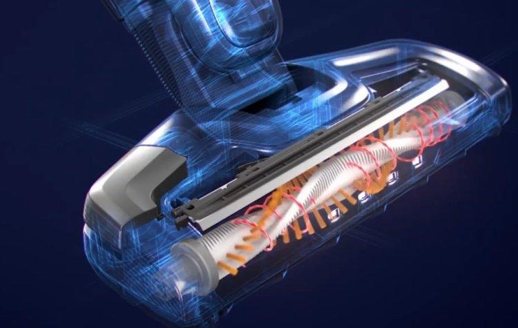 Technológia Brushrollclean vysávaču Electrolux EERC70IW.