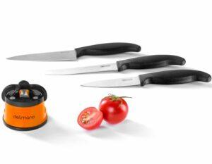 Brúska na nože + sada 3 nožov Brava Extreme