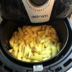 Delimano Air Fryer - pečenie hranoliek