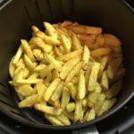 Delimano Air Fryer - pripravené hranolky
