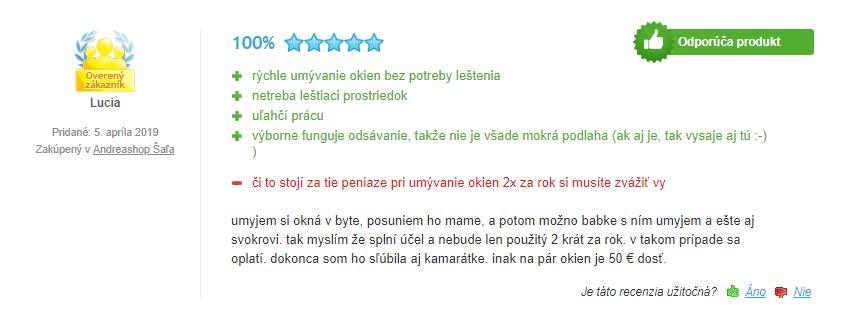 Kärcher WV 2 Premium 10 Years Edition recenzia