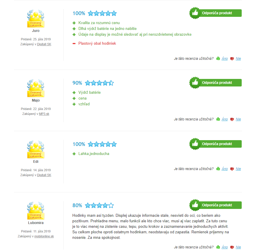 Xiaomi Amazfit Bip recenzie