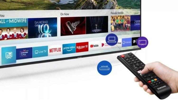 Diaľkový ovládač One Remote Experience k televízoru Samsung UE43RU7172.