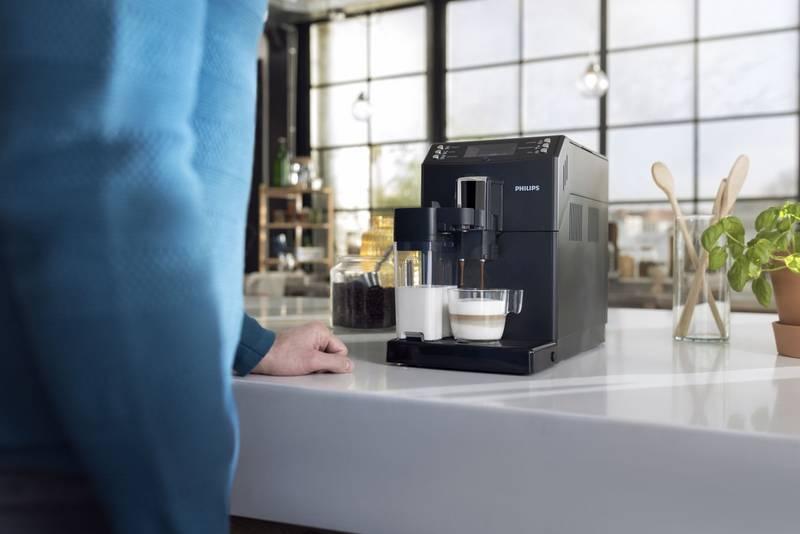 Kávovar Philips Saeco EP3550 príprava nápoja