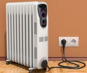 Ohrievače: Elektrický olejový radiátor