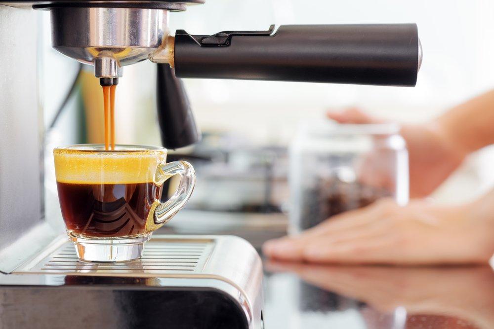 Espresso z portafiltra