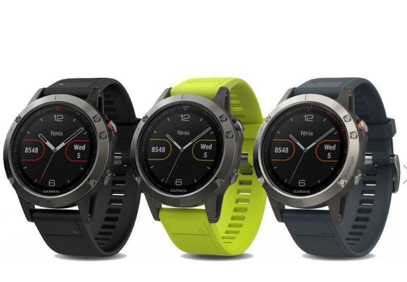 Remienky k hodinkám Garmin Fenix 5