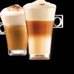 Cappuccino z kávovaru KRUPS KP123B31 Nescafé Dolce Gusto Mini Me