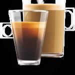 Lungo z kávovaru KRUPS KP123B31 Nescafé Dolce Gusto Mini Me