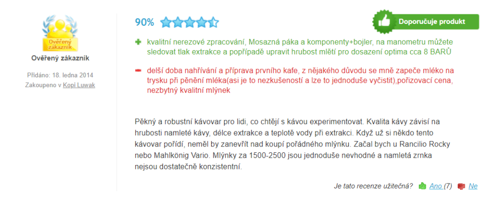 Lelit PL 41 - recenzia