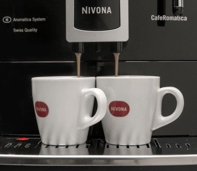 Príprava kávy kávovarom Nivona NICR 626
