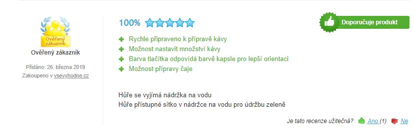 Tchibo Cafissimo Pure - recenzia