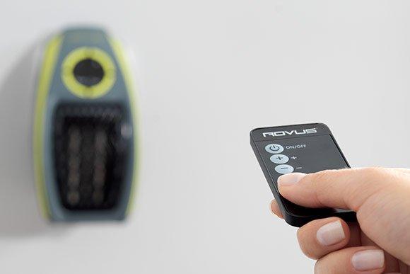 diaľkový ovládač pre rovus osobný ohrievač