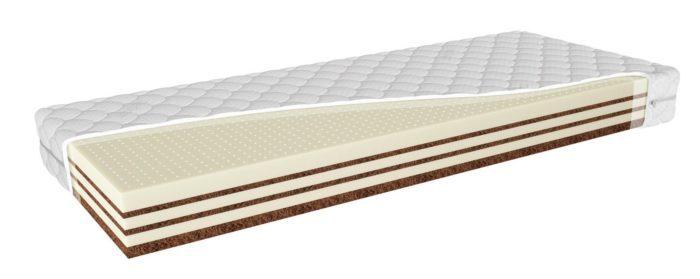 Segum matrac EXTRALAT 200x90cm, latexový matrac