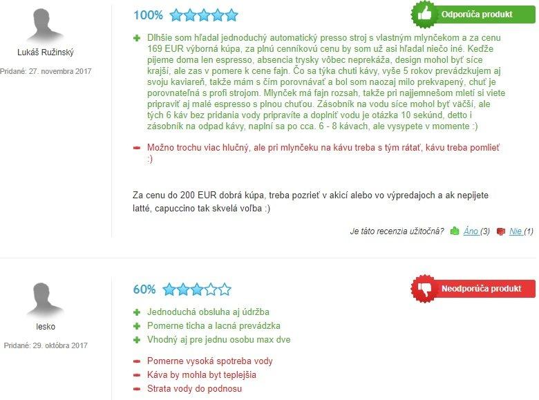 Skúsenosti zákazníkov s kávovarom Philips Saeco HD 8650/09