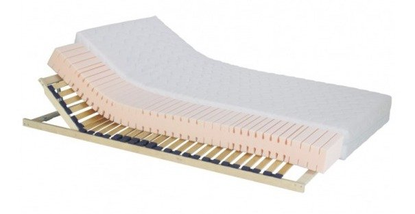 TEMPO KONDELA Tempo 10 obojstranný penový matrac 80x200 cm HR pena látka