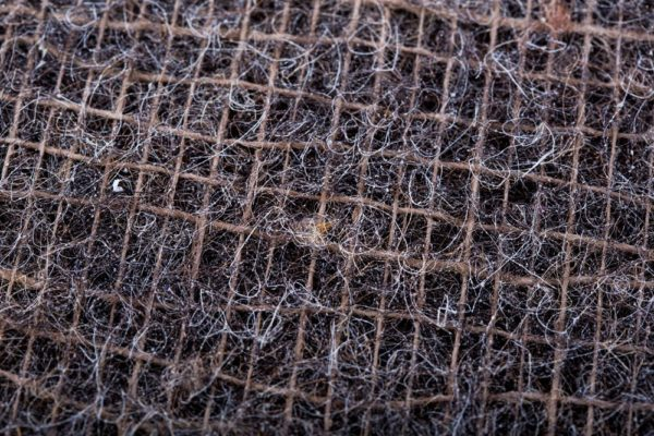 Textúra matracu z konských vlasov