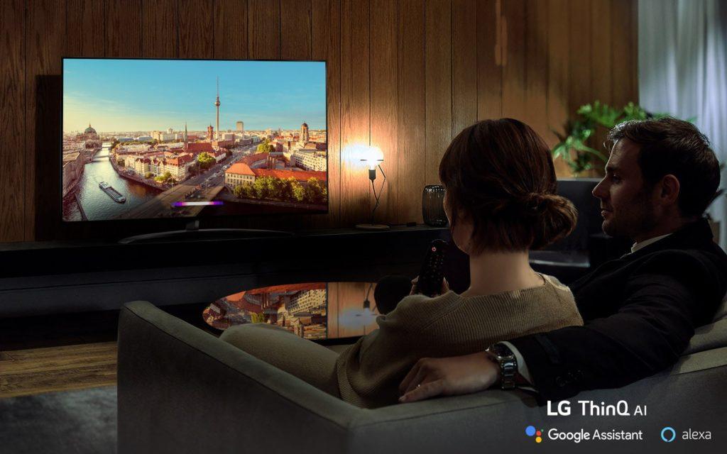 Sledovanie televízora LG NanoCell