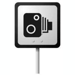 Detektor radarov v autokamere TrueCam A7s