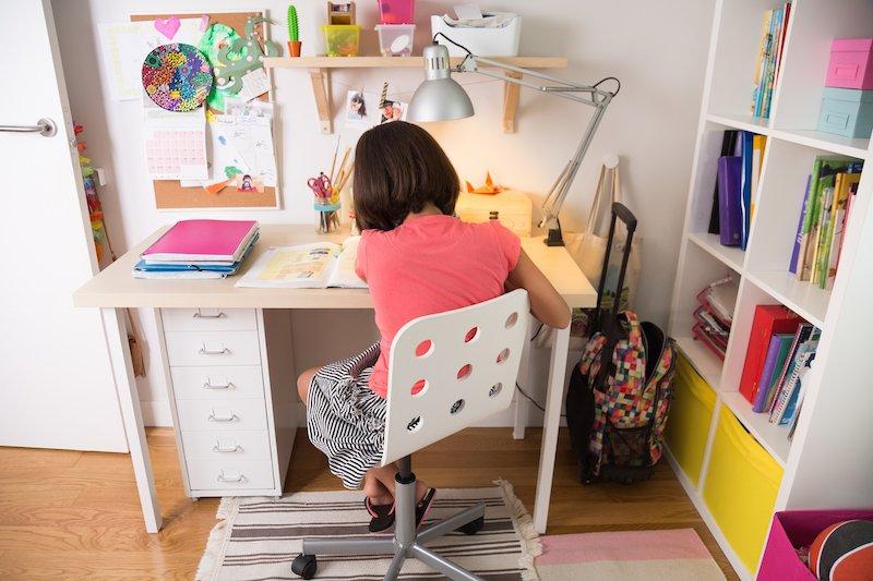 detský písací stôl