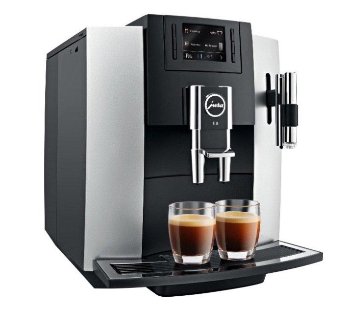 Jura Impressa E8 automatický kávovar