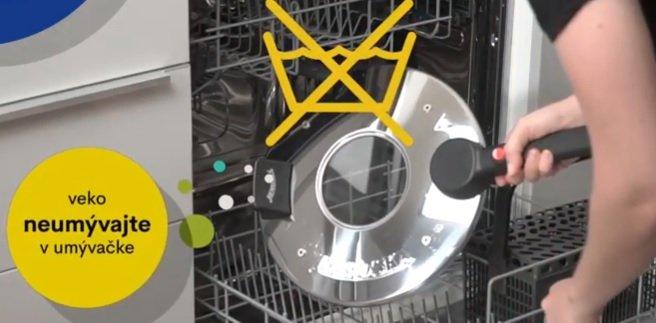 Veko Remosky nevkladajte do umývačky riadu