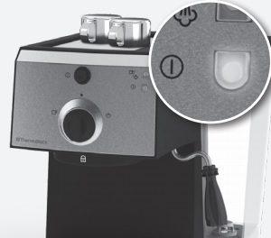 Postup na prípravu espressa na kávovare Electrolux EEA 111