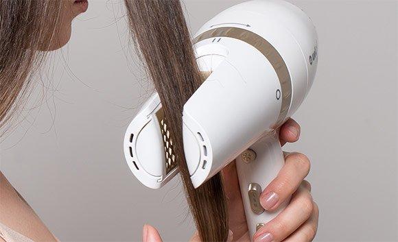 Fén Wellneo 2v1 AirPro - sušenie vlasov tunelovým spôsobom
