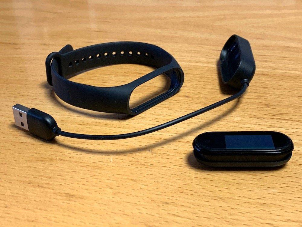Xiaomi Mi Band 4 - obsah balenia
