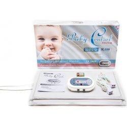 Baby Control Digital BC-220i Monitor dychu s dvomi senzorovými podložkami (pre dvojčatá)
