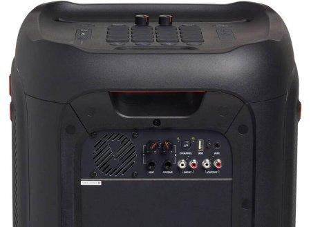 Vstupy a výstupy pre reproduktor JBL PartyBox 1000