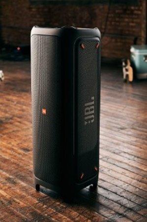 Čierny reproduktor JBL PartyBox 1000