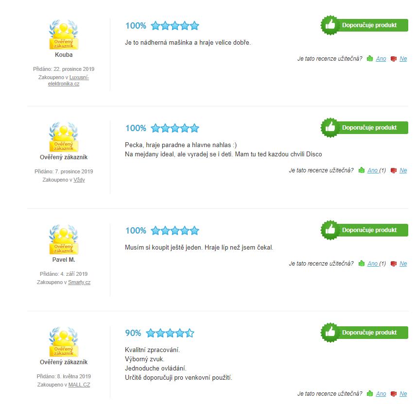 JBL Partybox 300 - recenzie zákazníkov