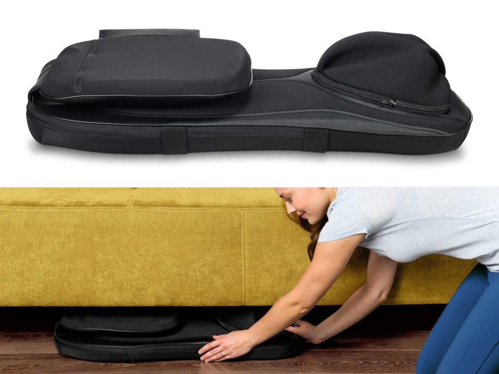 Masážna podložka chrbta a nôh Shiatsu 4v1 - uskladnenie