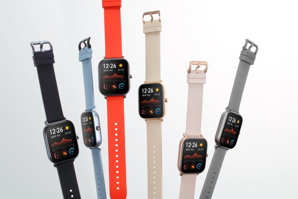 smart hodinky Xiaomi Amazfit Gts - farebné variácie