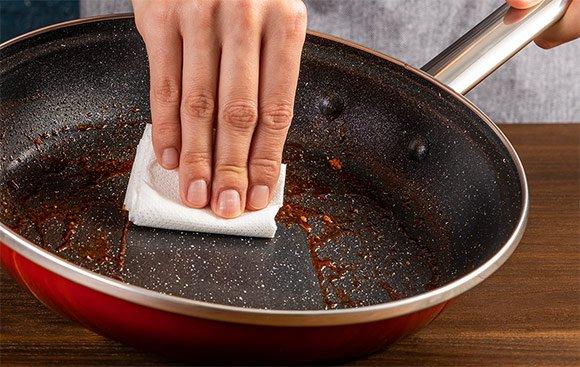 Jednoduché čistenie panvice