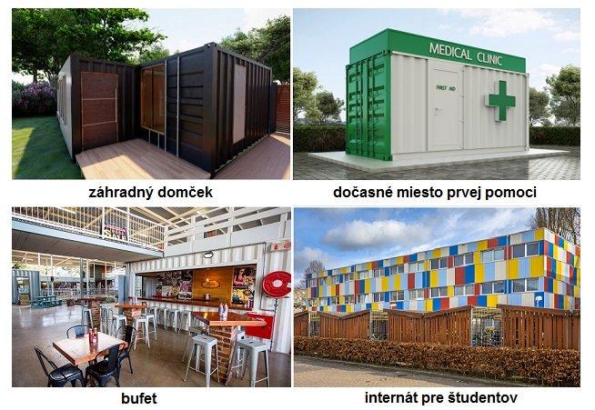 Varianty kontajnerových stavieb