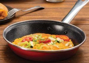 Vajíčková omeleta so zeleninou