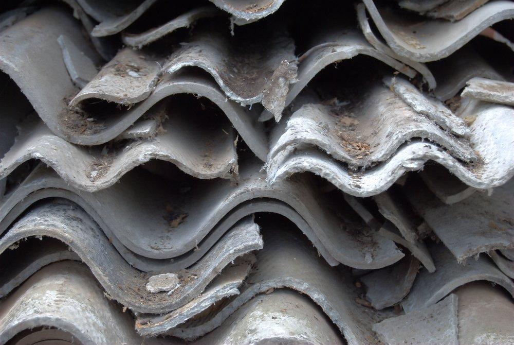 Strecha s obsahom azbestu