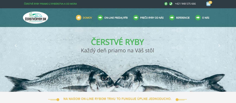 Čerstvé ryby - eshop