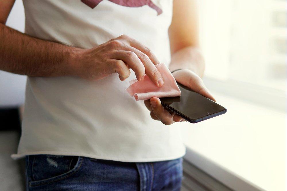 Dezinfekcia mobilu