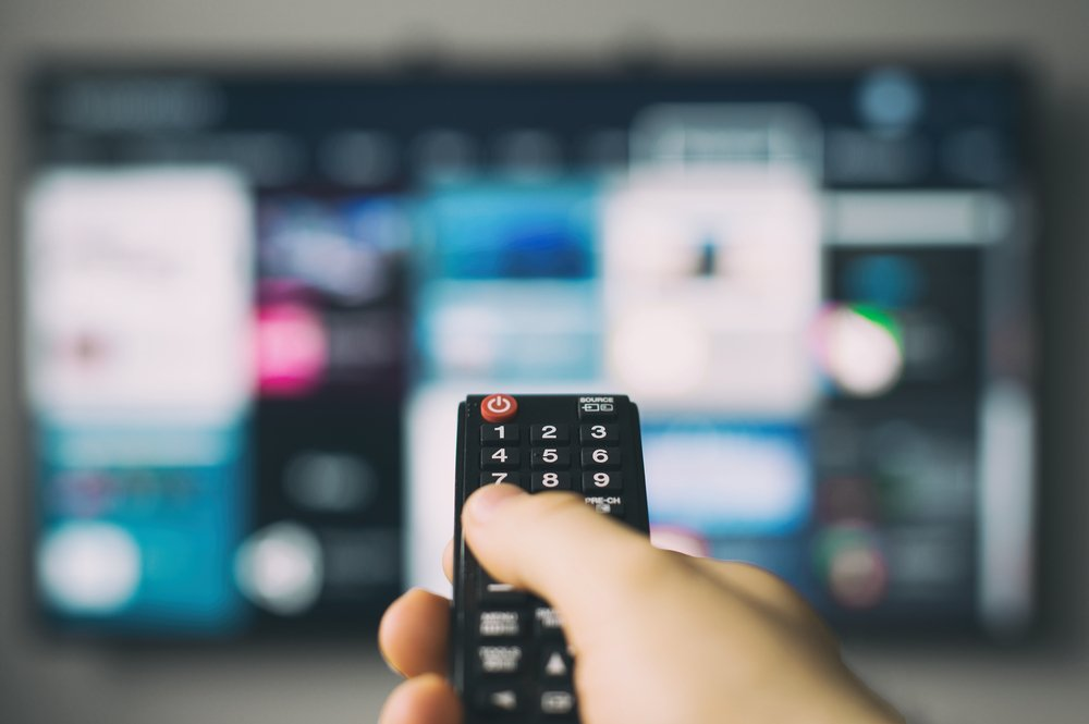 diaľkový ovládač TV