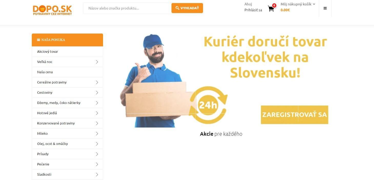 DOPO.sk - eshop