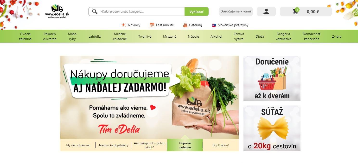 eDELIA - online supermarket
