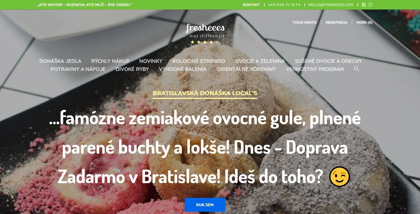 Fresheees - eshop