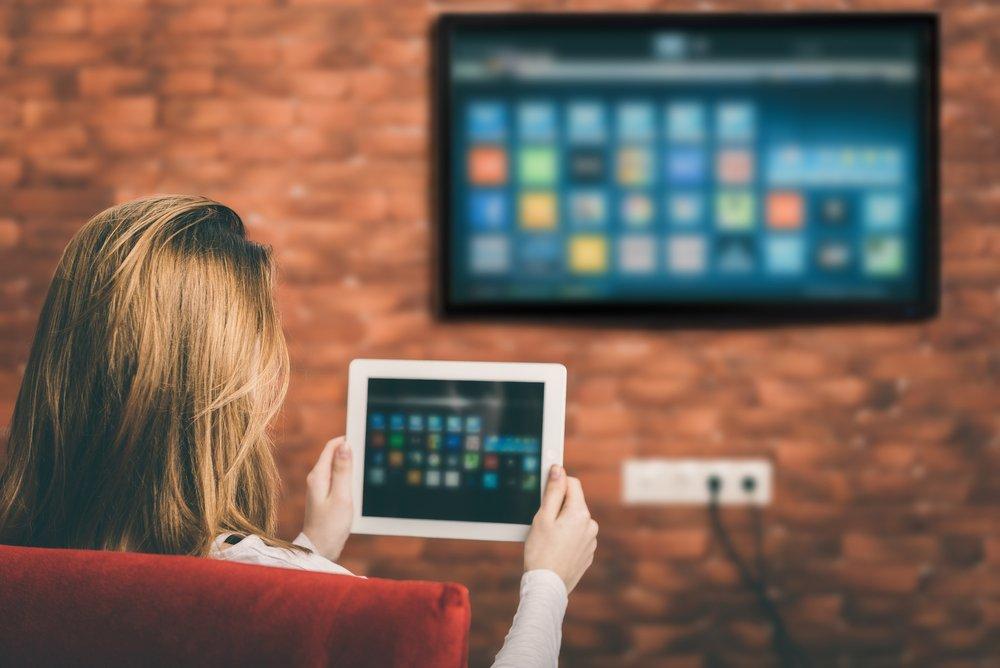 tablet a TV - smart fukncie