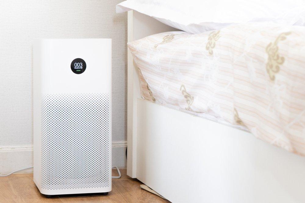 Ionizátor vzduchu pri posteli