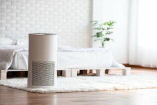 Ionizátor vzduchu s elegantným dizajnom