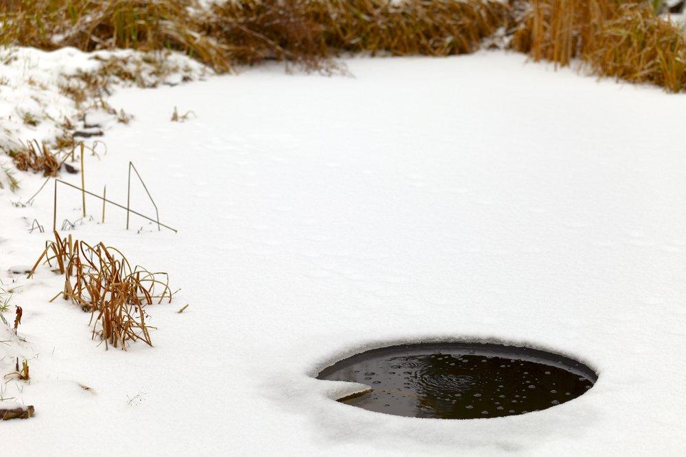 Otvor v ľade
