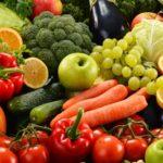 Potraviny do zásoby: čerstvé ovocie a zelenina